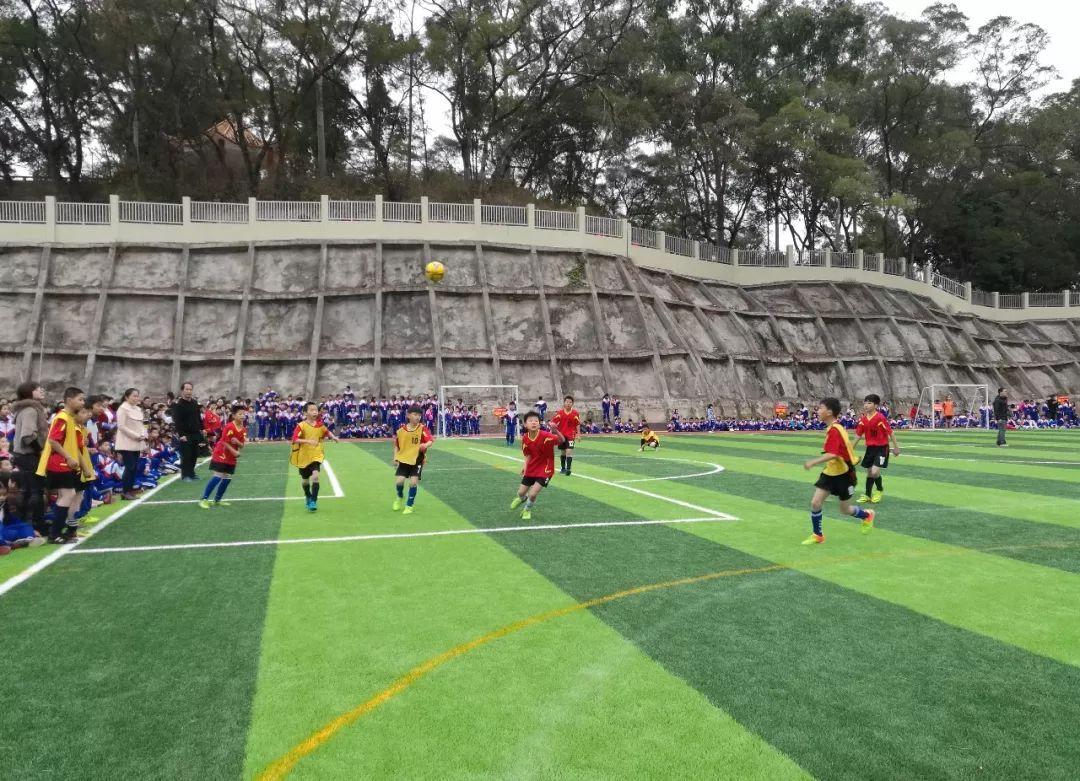 济南首个校园空中足球场来了!又是人家的学校!太羡慕了