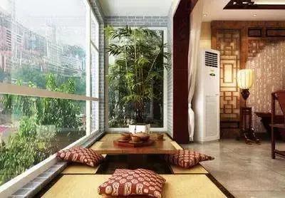 陽臺風景獨好,增添一個茶室,生活無比樂趣!