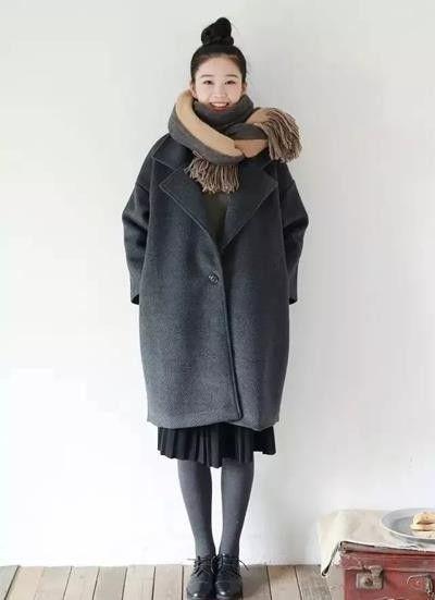 你的大衣都适合什么围巾?围巾的各种围法!