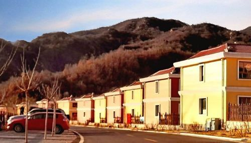 旅游景区空气的锥臼峪别墅,在举世闻名的明十三陵浏览区西北约4用起点正文热水器能图片