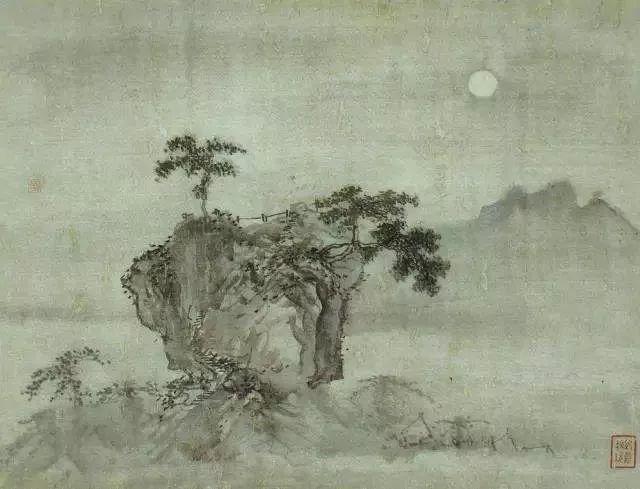 观 金陵八景图 ,从古画中看秦淮