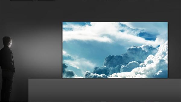 """三星展示146英寸模块化电视 它的名字叫做""""墙"""""""