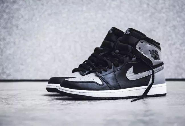 """经典又百搭!黑灰 Air Jordan 1 OG """"Shadow"""" 四月发售!莆田高仿鞋"""
