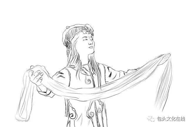 你知道蒙古族五种颜色哈达的意义吗?图片