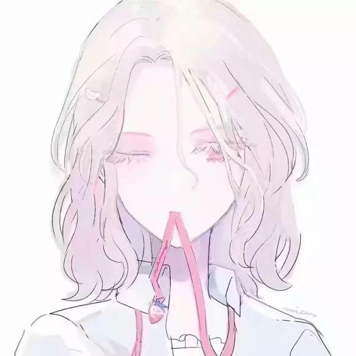 动漫头像女生唯美图片高清