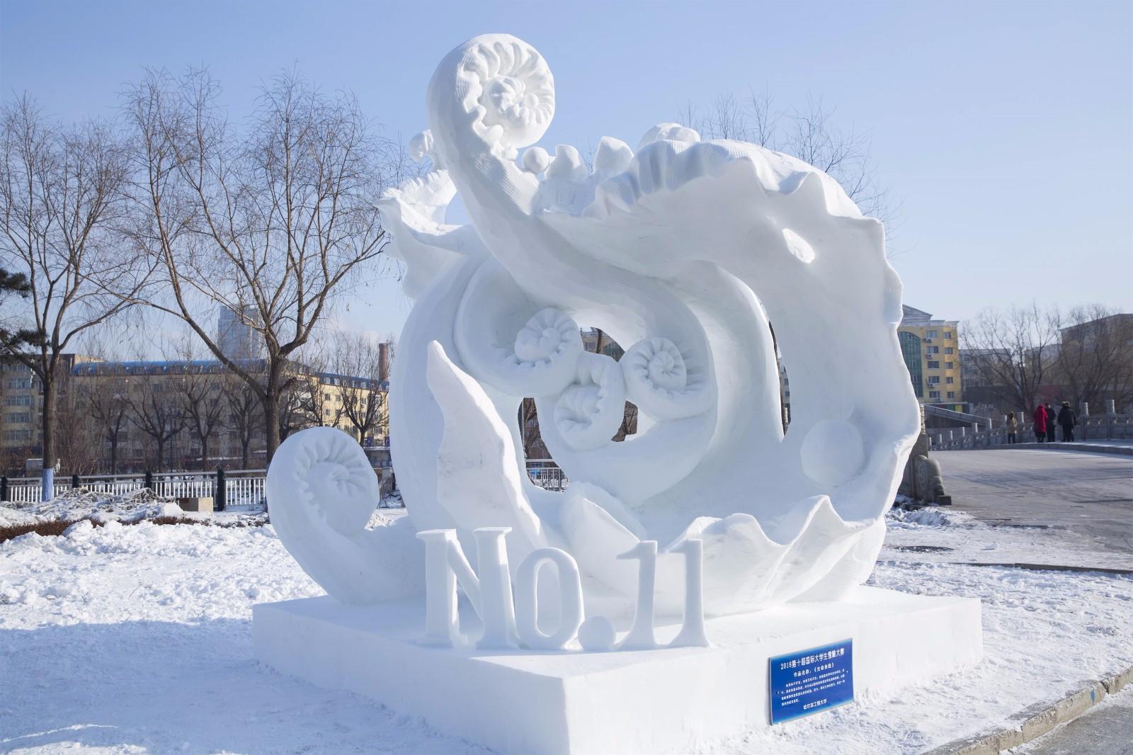 华南理工大学学生会徽什么时候设计的_我把哈尔滨的美送给你丨这里的冰雪,为什么与别处不一样