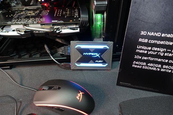 无灯不欢 金士顿新款RGB固态硬盘发布