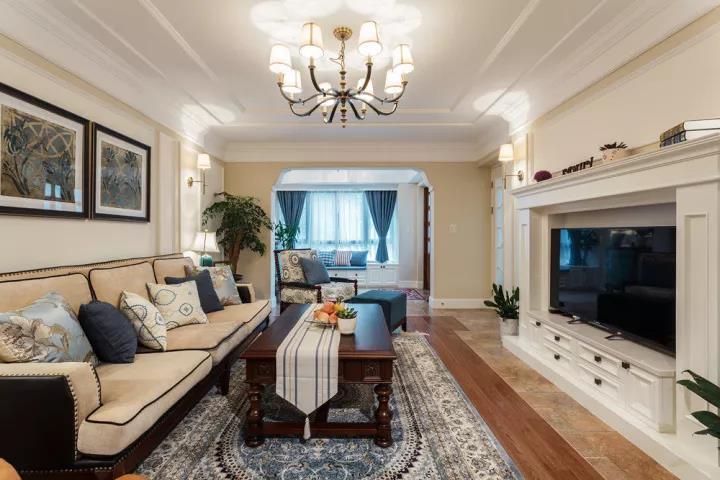 250平五室三厅混搭风,奢华的装