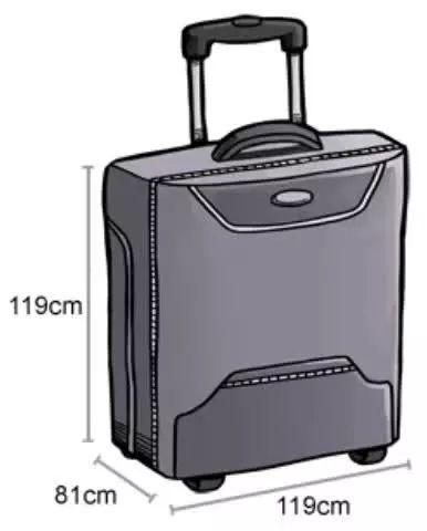 各大航空公司最新行李�y�б�定,回家�^年或出游一定要看仔�了�D片 16690 386x480