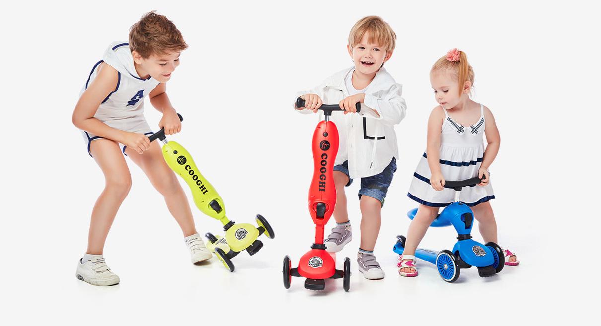 手把手教你挑选儿童滑板车,史上最全