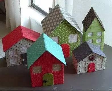 硬纸板小房子