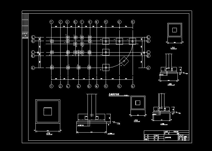 新手钢筋cad基础培训图纸,必学的建筑钢筋图纸