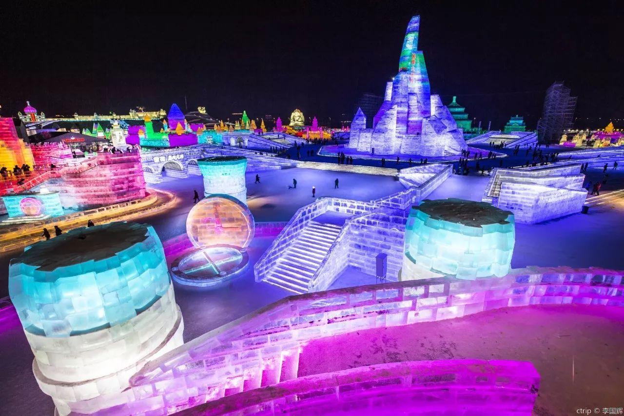2018年哈尔滨冰雪节已盛大开幕!好玩到飞起!图片