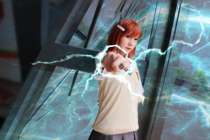 御坂美琴cos妆_某科学的超电磁炮 御坂美琴cosplay