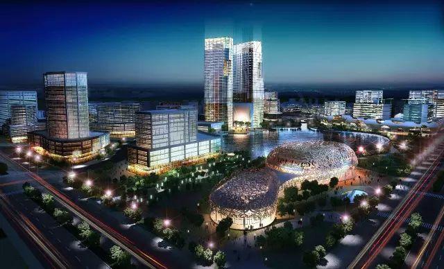 壮观~浙江湖州又一个新地标标志性建筑即将建成!