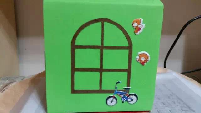 幼儿园手工制作简单的卡通小房子(内含详细教程)-师讯