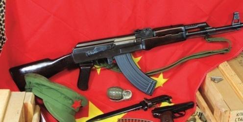 62×39毫米m43步枪弹,k98k是二战德国的老玩意,发射的是7.