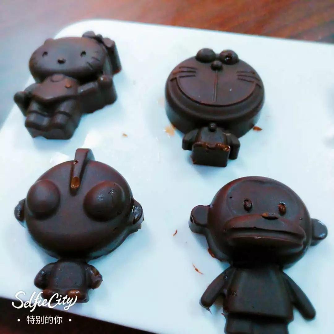 diy巧克力制作_甜蜜周日 萌娃巧克力diy,制作属于自己的甜蜜!(第二轮