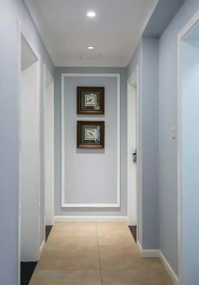 不同风格的家居过道设计,玄关,卧室走廊都有!图片