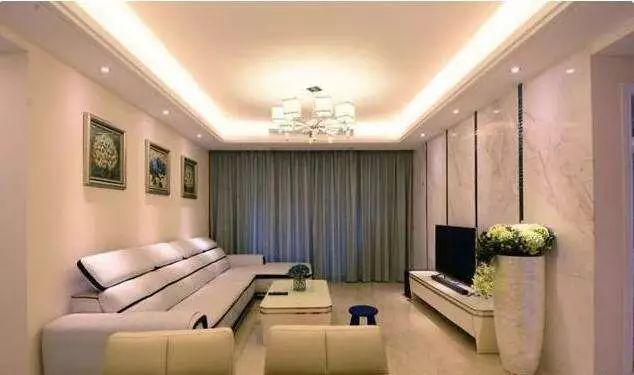 晒晒我家128平新房,精心设计的电视墙和