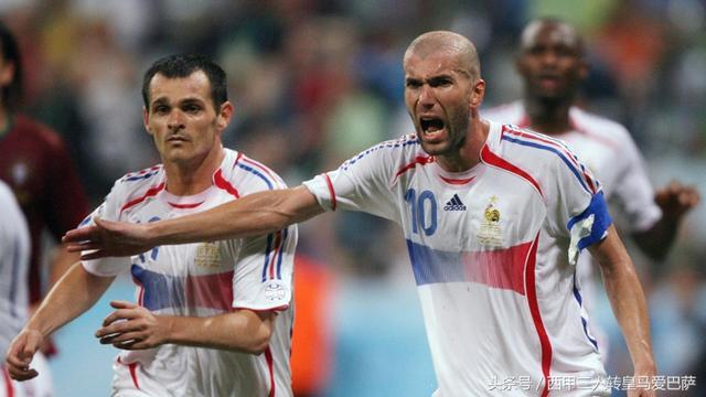 法国球星揭齐达内06世界杯被罚下新内幕:一队友