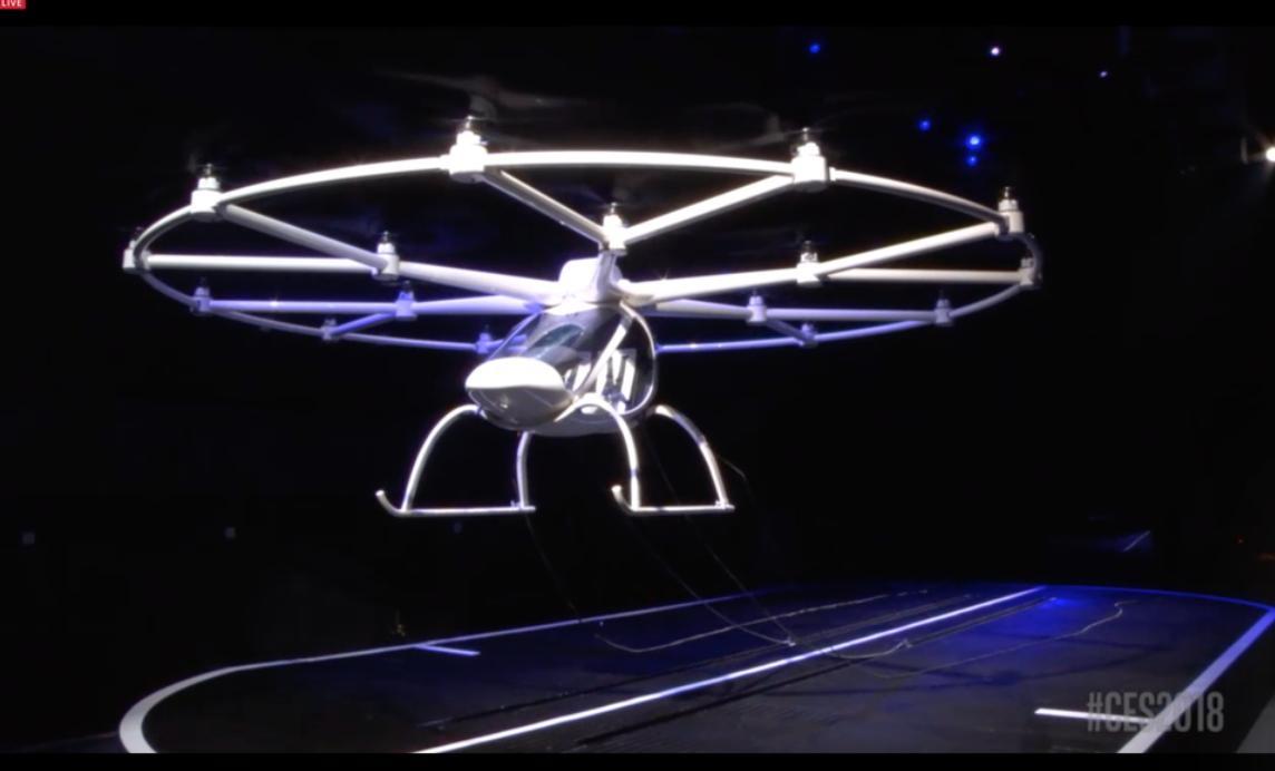 打飞的不是梦!英特尔发布一款无人机,可用手机召唤空中飞行汽车