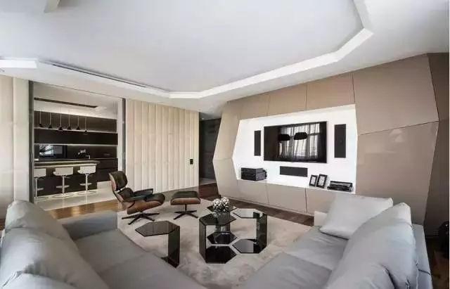 电视背景墙石材,木材,壁纸还是大白墙?哪个好?