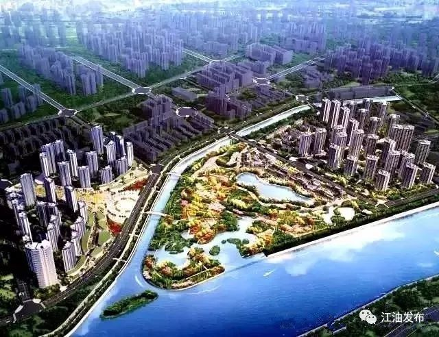 江油三桥片区规划图