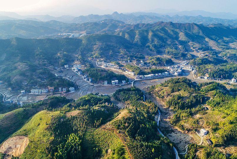秒速时时彩304省道途经的管前西溪口村,演绎百年历史精彩