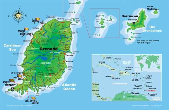 格林纳达人口有多少_格林纳达地图