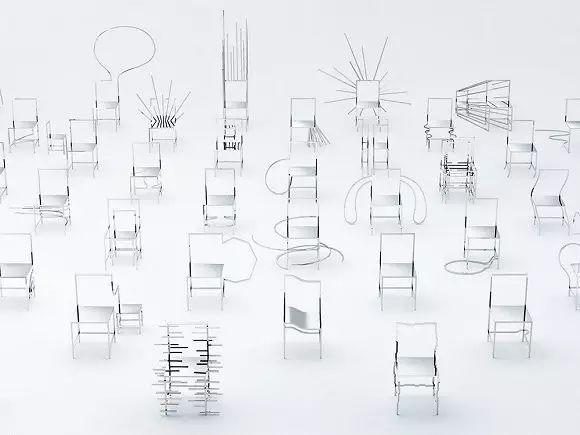 家居平面图椅子