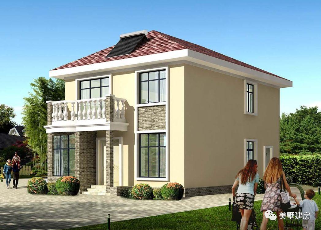 2016农村楼房70平方设计图 地基