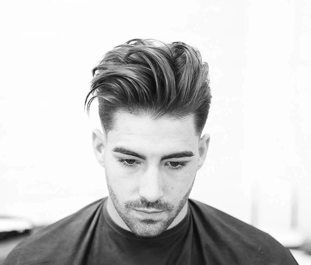 发型| 两边铲青更好打理,美渣最新发型2018 新趋势图片