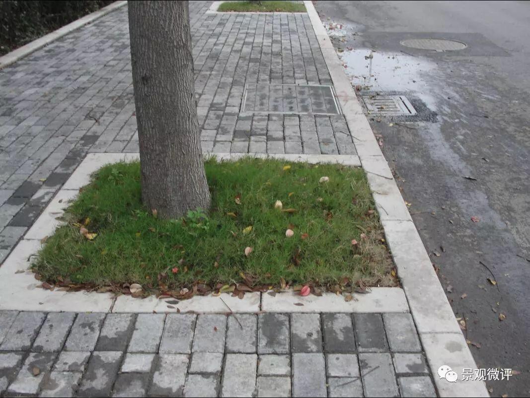 下面就这些问题提出相应的标准: 人行道实物标准 人行道铺装面层应图片