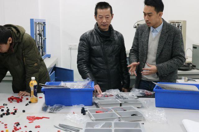 新闻| 第八届机械创新设计大赛惠鱼组作品指导及慧鱼图片