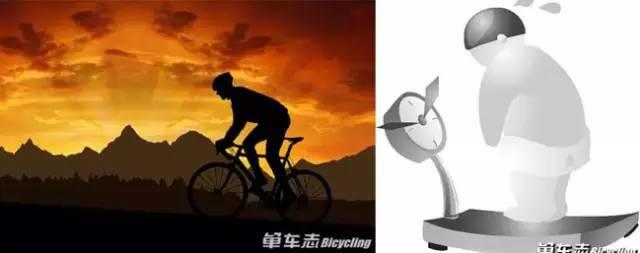 骑车VS不骑车,不同的人生!