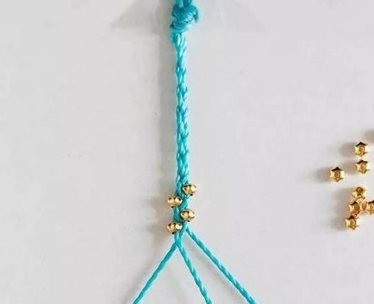 各种转运珠手绳编法,简单易学!(图解)