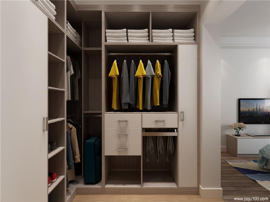 5款创意整体衣柜装修效果图,让卧室收纳力翻倍!