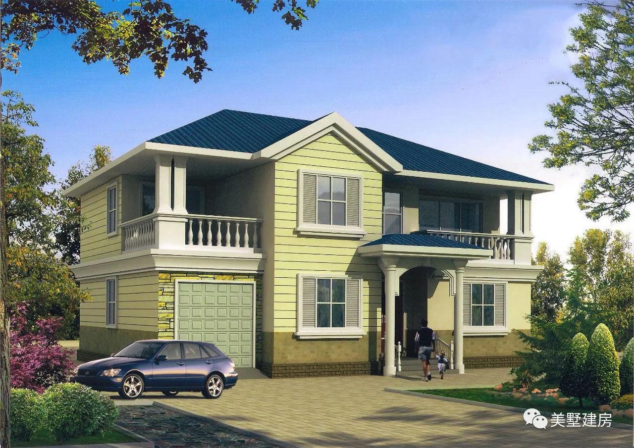 别墅设计图纸及效果图大全农村自建房别墅施工图纸