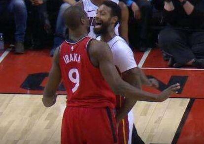 猛龙热火爆本季最火爆冲突,其实NBA历史上这几次才让人记忆犹新!