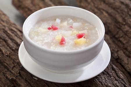 养胃食谱一:做法粥宝宝:大枣10枚,大枣100g,材料汁适量;茭白:入锅冰糖素炒粳米图片