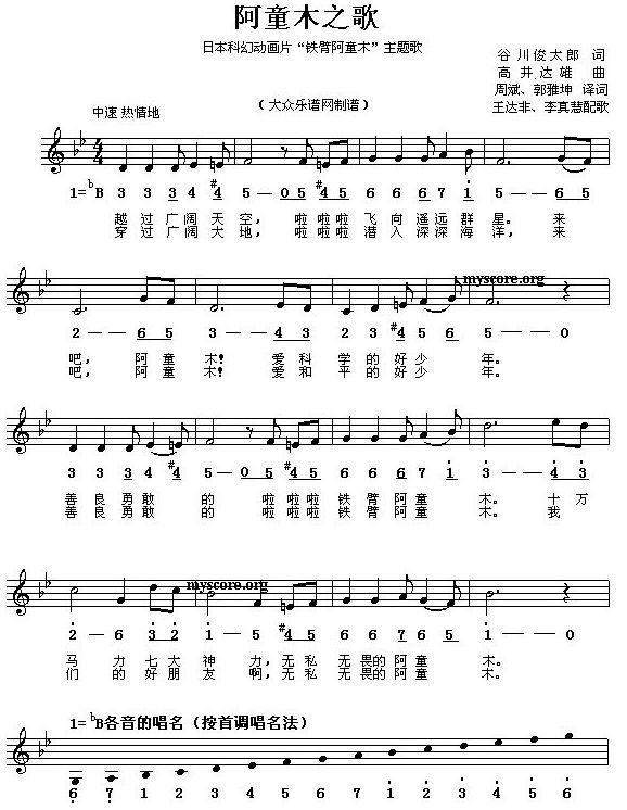 牧童儿歌曲谱_牧童短笛钢琴曲谱