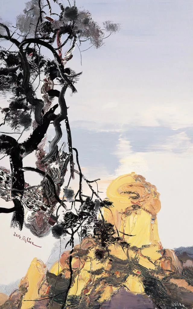 张大林意象油画图片