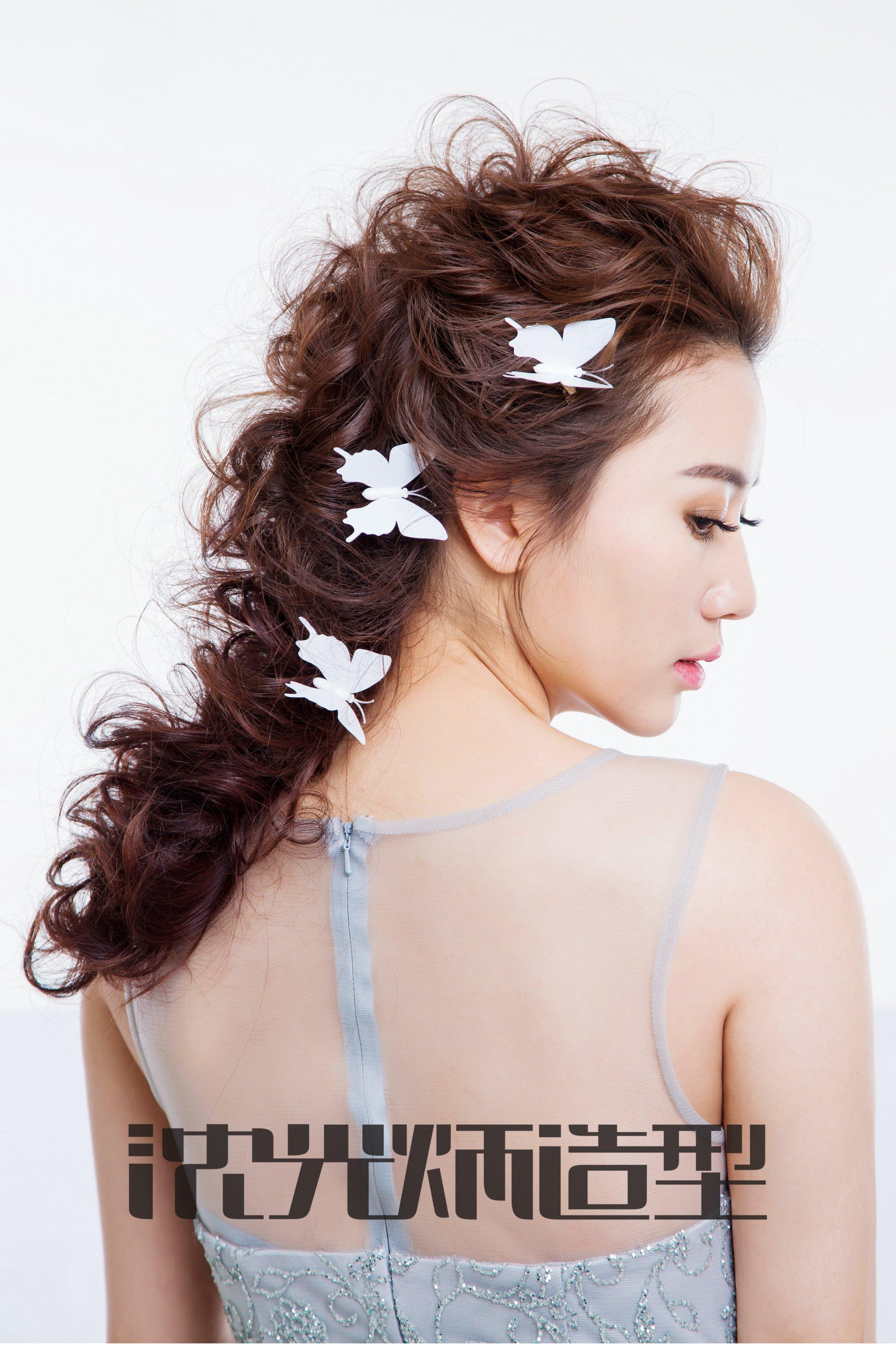 2018年流行新娘造型,韩式新娘发型特点图集图片