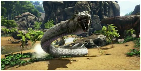 """真正的""""泰坦巨蟒""""?方舟史上最强负重生物来袭!"""