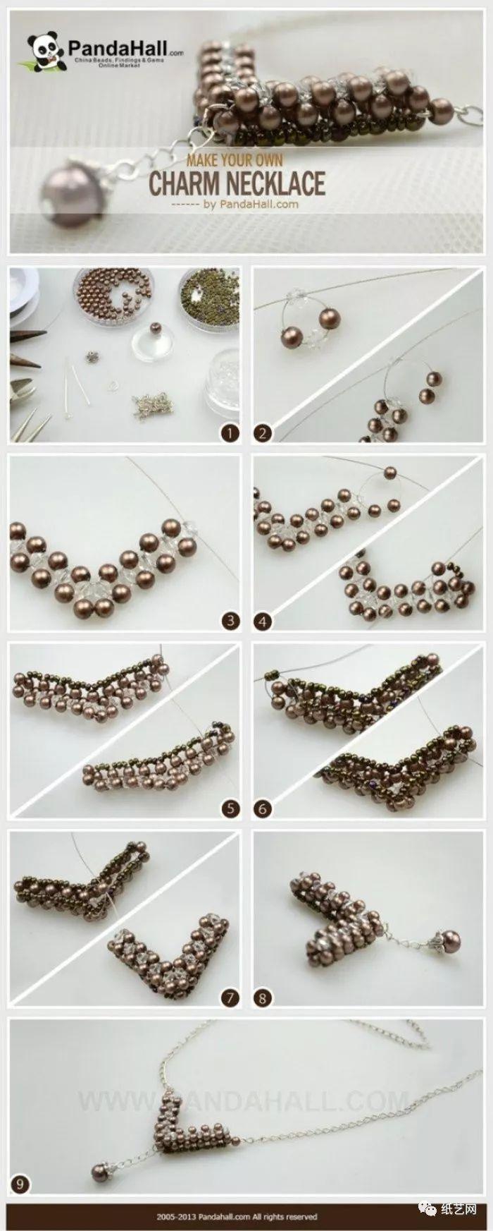 萌化无数少女心的串珠首饰图解教程集合!