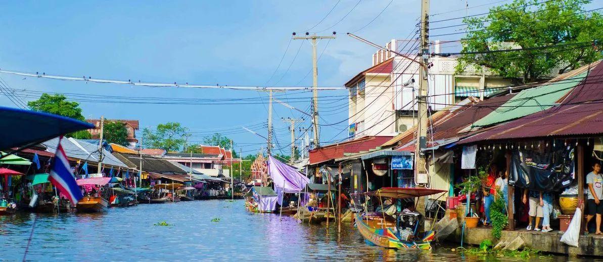 东南亚最有烟火气息的水上集市,你去过几个?