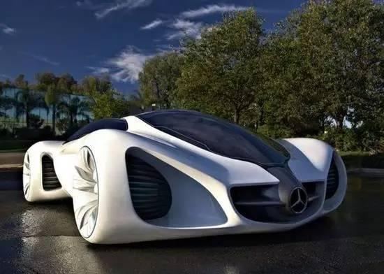 奔驰biome概念车手绘