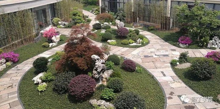 旅游 正文  在庭院与植物造景上经验丰富,精通花境小品在园林中的应用