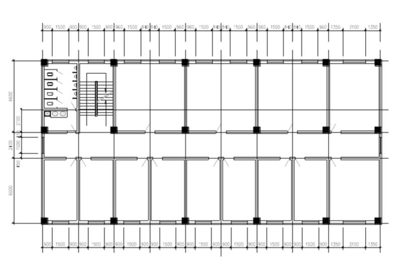 分享cad建筑基础练习图纸,成为大师,你也可以!